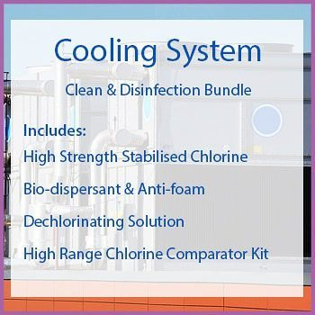 Clean Disinfection Chemical Bundle For Cooling Towers